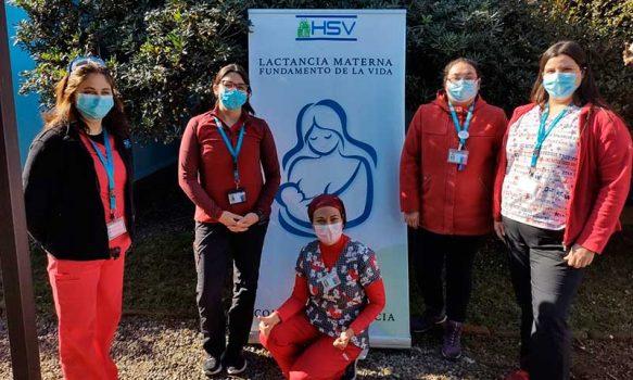 """Con concurso de fotografía Hospital de San Vicente conmemora """"Mes de la Lactancia Materna"""""""