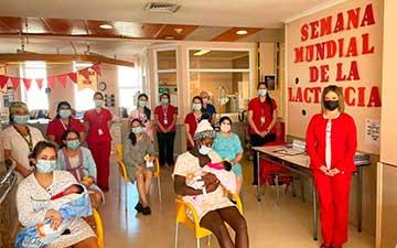 Hospital Regional se suma a la Semana Mundial de la Lactancia Materna con concurso fotográfico