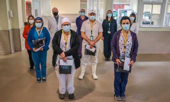 HRR destaca a sus funcionarios por enfrentar la pandemia del COVID-19