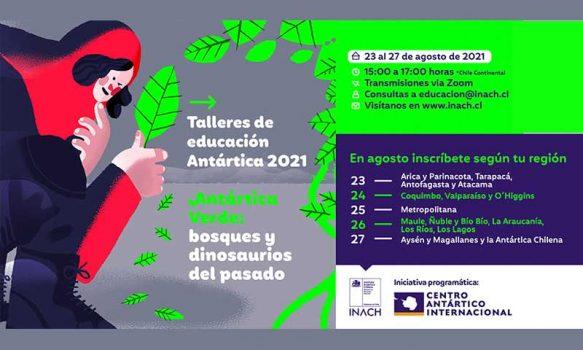 Inach capacitará a docentes, técnicos y estudiantes de la Región de O'Higgins en temáticas antárticas