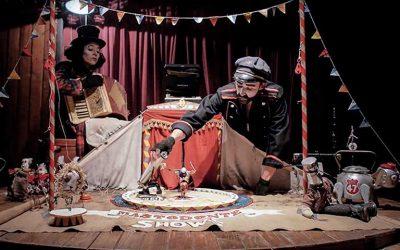 La Familia Carromato llega a Rancagua con su espectáculo en miniatura Mastodonte Show