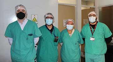 La telecirugía, un nuevo hito para Hospital San Fernando