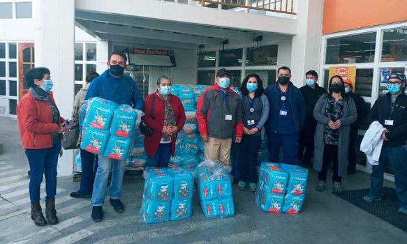Más de 3.700 pañales para adultos vulnerables fueron recaudados en campaña solidaria