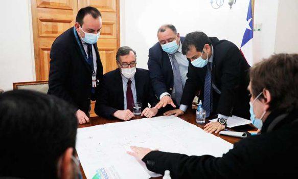 Ministro del Interior compromete visita a Graneros para analizar problemas de delincuencia