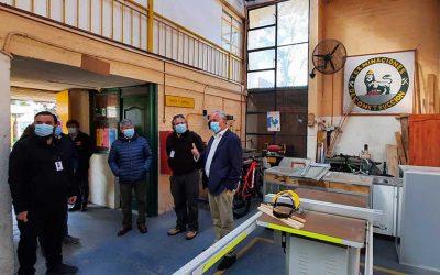 MOP O'Higgins hizo entrega de terreno a empresa que ejecutará reposición y reparación del Liceo Industrial de San Fernando