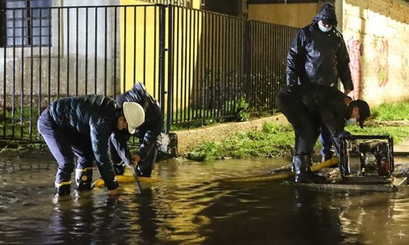 Municipalidad de San Fernando activa plan de contingencia por temporal