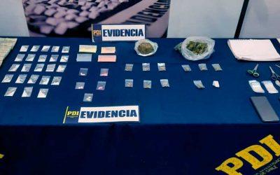 PDI detecta droga sintética en Nancagua y detiene a tres personas