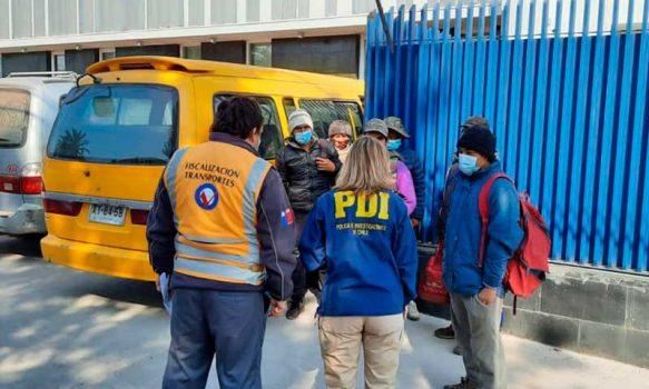 PDI San Fernando denunció a 24 personas por infracciones migratorias