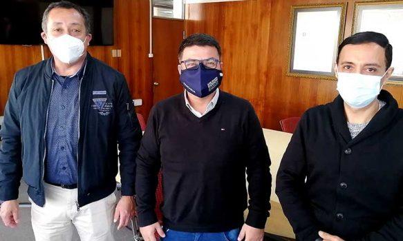 Seremi del Deporte se reúne con el nuevo gerente de la Corporación Municipal de Deportes Rancagua