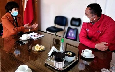 Seremi del deporte se reúne con nuevos alcaldes de la región y analizan proyectos para la comunidad