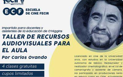17º Festival Internacional de Cine Rengo 2021 destaca la importancia del audiovisual en la educación actual