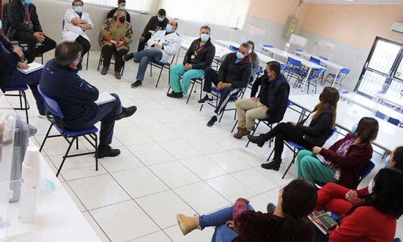 Alcalde de San Fernando visita el Hospital San Juan de Dios para conocer su funcionamiento y futuros proyectos de mejora