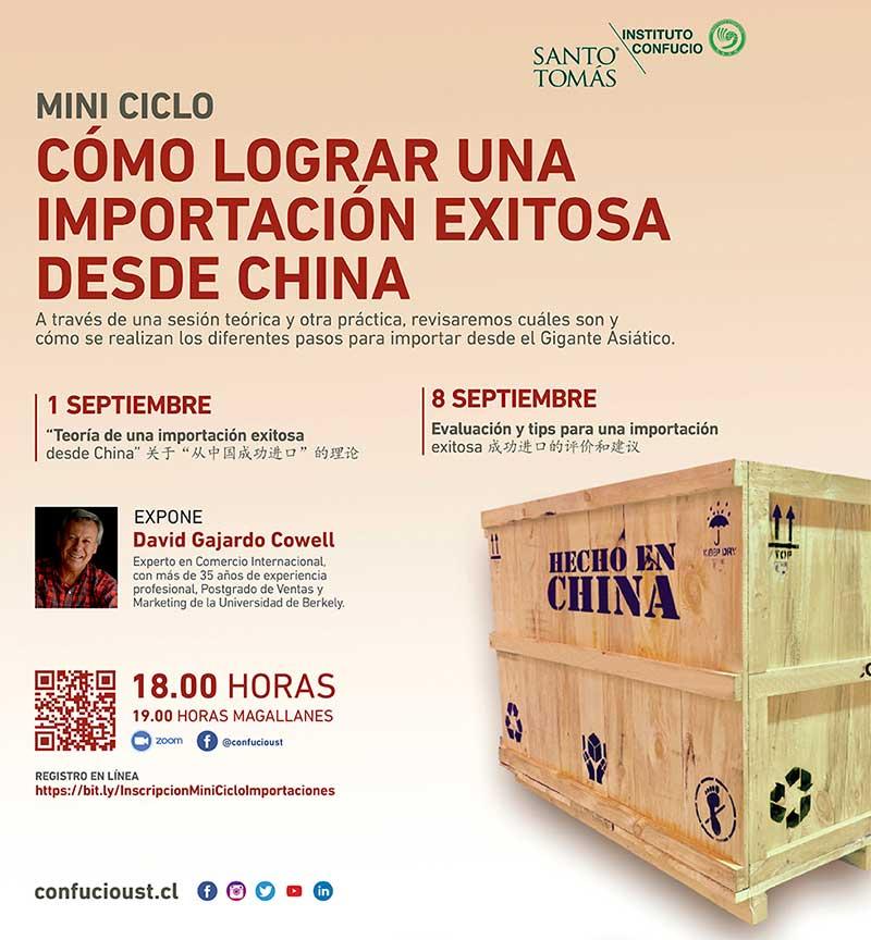 Aprende a importar desde China con el Instituto Confucio de Santo Tomás