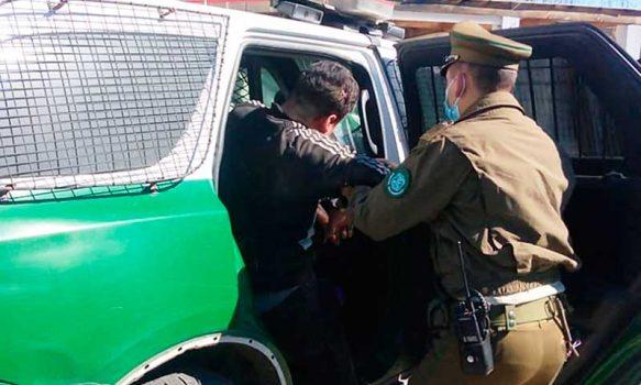 Carabineros detuvieron a sujeto que había robado camión en Rancagua