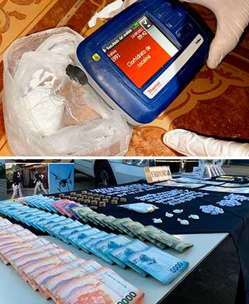 Casi un centenar de policías participaron en procedimiento antidrogas en Santa Cruz