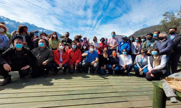 Celebración regional Día Mundial del Turismo en Reserva Nacional Río de Los Cipreses