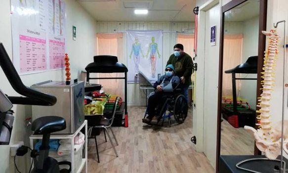 Centro de Rehabilitación Física de Marchigüe cuenta con nuevas dependencias