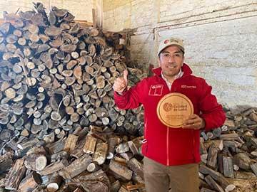 Comerciantes y productores de la región de O'Higgins reciben el Sello de Calidad de Leña