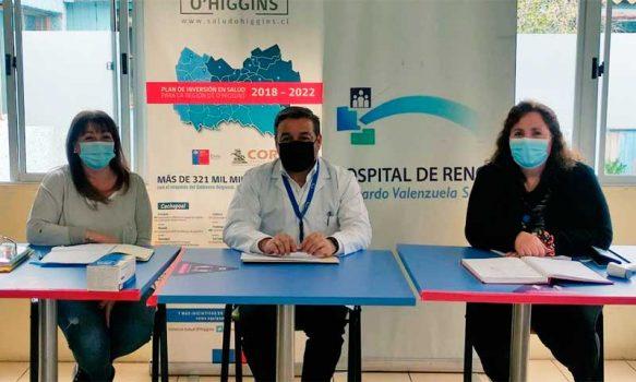 Consejo de Desarrollo del Hospital de Rengo sostiene primera reunión presencial en pandemia