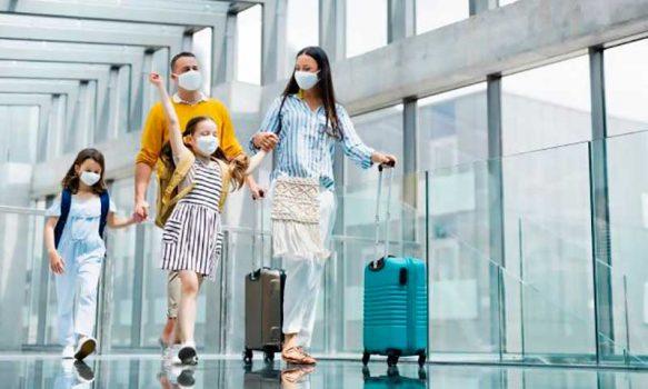 covid viaje aeropuerto