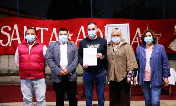 En Las Cabras se realizó entrega de Comodato a Club Deportivo Santa Adela
