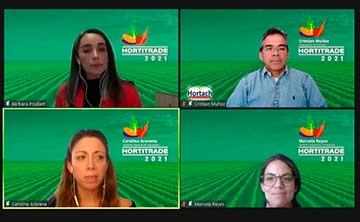 HortiTrade 2021: 94% de los productores que participaron de la Rueda de Negocios logró gestionar negocios con empresas hortícolas