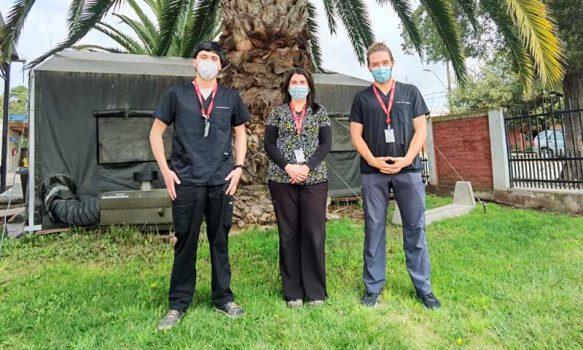 Hospital de Marchigüe cuenta con dos nuevos profesionales médicos