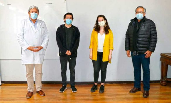 Hospital de Peumo recibe a dos nuevos médicos