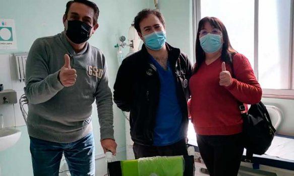 Hospital de Pichidegua recibe donación de Silla de Ruedas