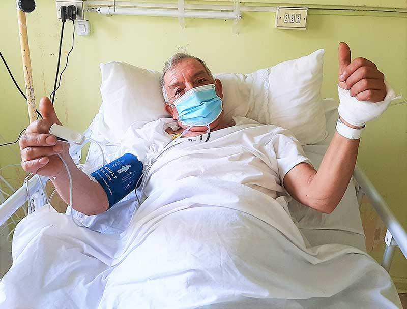 "Hospital San Fernando realiza ""TeleACV"""