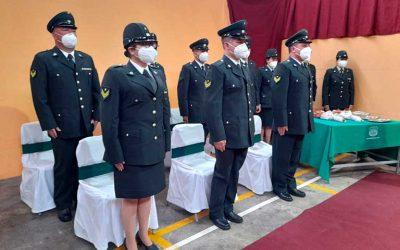 Impecable ceremonia de ascenso en el CCP de Santa Cruz