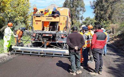 MOP O'Higgins capacita en construcción de caminos rurales a equipo Vialidad región del Ñuble
