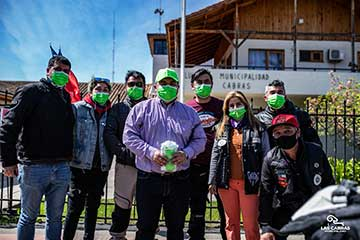 Motoqueros realizaron masiva caravana en el cierre de la Semana Mundial de Concienciación de Enfermedades Mitocondriales