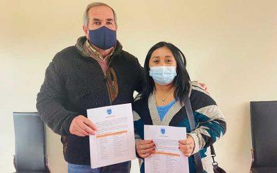 Pumanque firma convenio para la instalación de 20 puntos verdes en la comuna