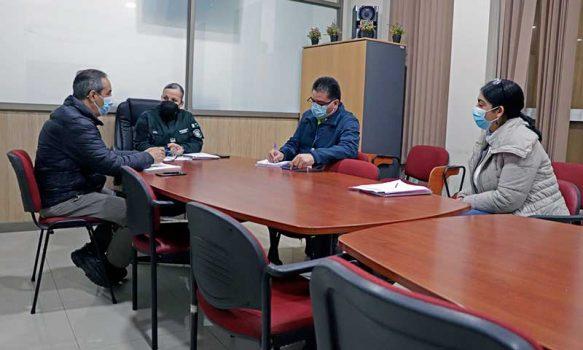 SAMU y Gendarmería realizan coordinación intersectorial