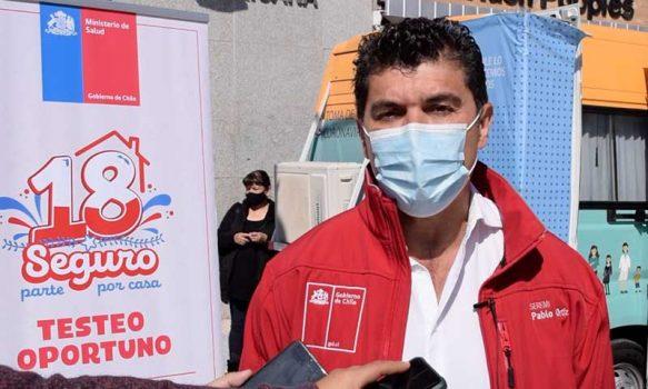Seremi de Salud O'Higgins potencia testeo oportuno post Fiestas Patrias
