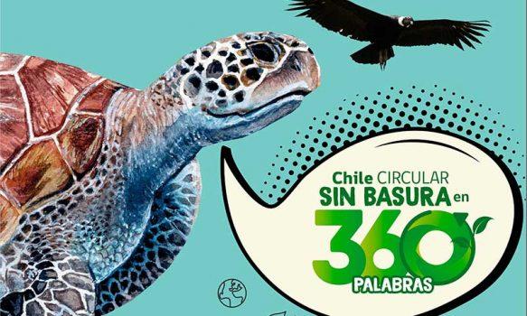"""Seremi del Medio Ambiente invita a participar del Concurso de cuentos """"Chile circular sin basura en 360 palabras"""""""
