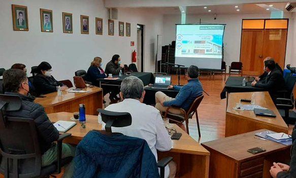 Servicio de Salud expone avance de proyectos locales ante autoridades municipales de San Fernando