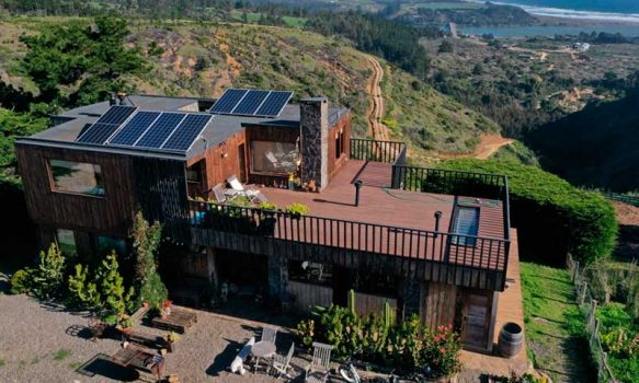 Subsecretario de Energía visita emprendedora turística destacando programas de impulso a las pymes para acceder a Energías Renovables y Eficiencia Energética