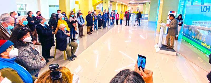 UOH, Servicio de Salud O'Higgins y organizaciones sociales se unen para homenajear a profesor Luis Almonacid Arellano