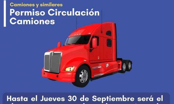 Ya se puede renovar permiso de circulación en Palmilla para camiones y similares