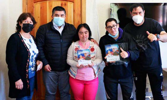 Alcalde de Las Cabras homenajeó a campeones de Cueca nacional e internacional en categoría capacidades diferentes