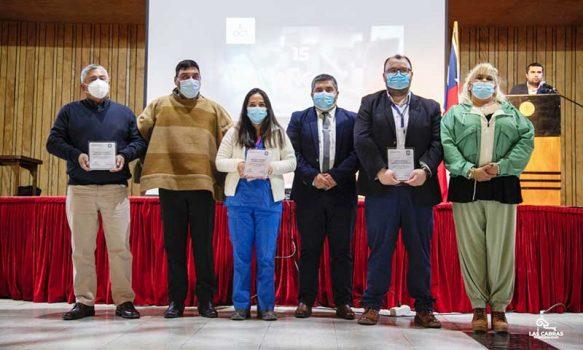 Alcalde de Las Cabras homenajeó a funcionarios de la Salud Primaria destacando su enorme trabajo en pandemia