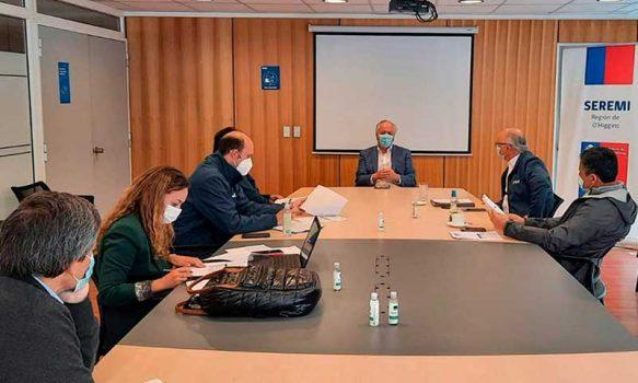 Seremi de Obras Públicas se reúne con nueva directiva regional de la Cámara Chilena de la Construcción