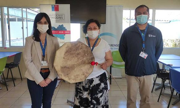 Servicio de Salud O'Higgins efectuó Sonoterapia a los funcionarios del Hospital de Rengo